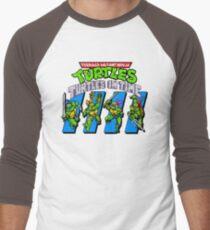 TMNT Turtles in Time Men's Baseball ¾ T-Shirt