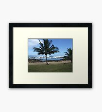 Hawaii Beach 10 Framed Print