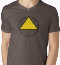 Legion Yellow Triangle Circle David Haller Mens V-Neck T-Shirt