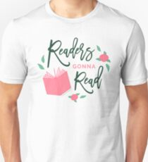 Readers Gonna Read Bookish Floral T-Shirt