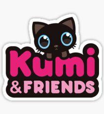 Logo Kumi & friends Sticker
