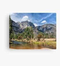 Yosemite Valley River Canvas Print