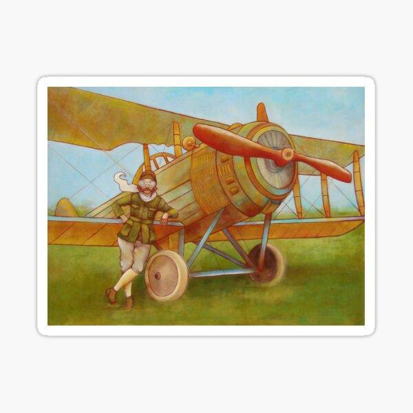 Aviator Pegatina