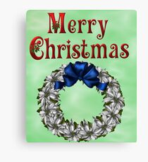 Merry Christmas 2 Canvas Print
