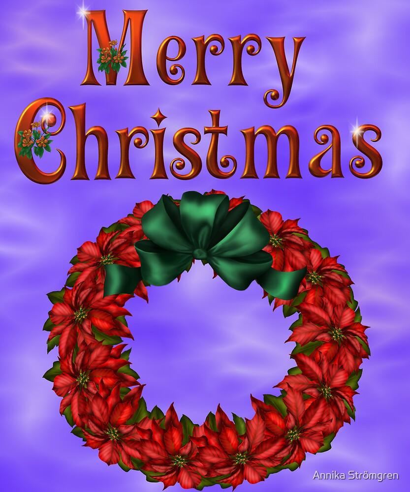 Merry Christmas 4 by Annika Strömgren