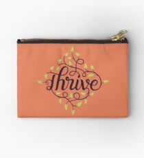 Thrive Zipper Pouch
