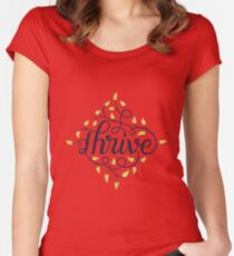 Thrive Women's Fitted Scoop T-Shirt