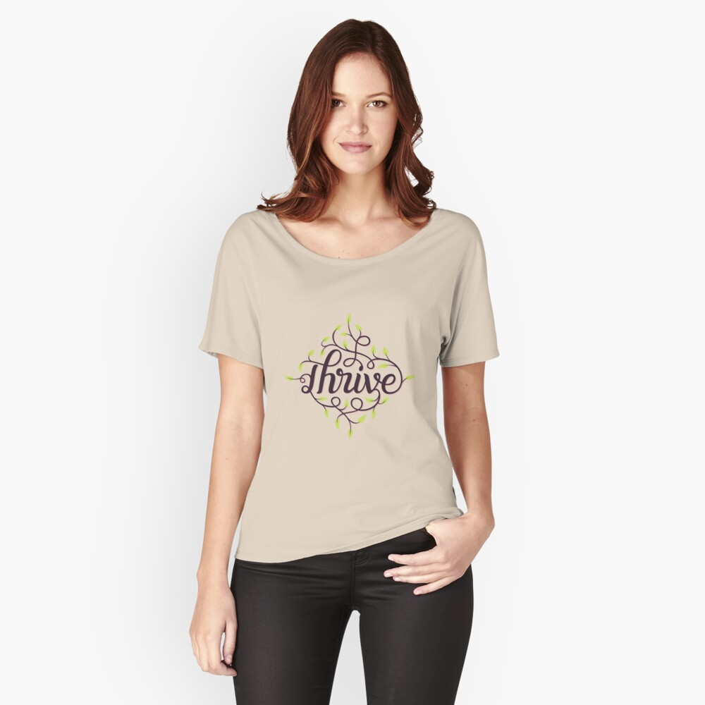 Thrive Women's Relaxed Fit T-Shirt Front