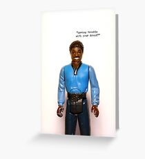 iPhone Case - Lando ESB Greeting Card