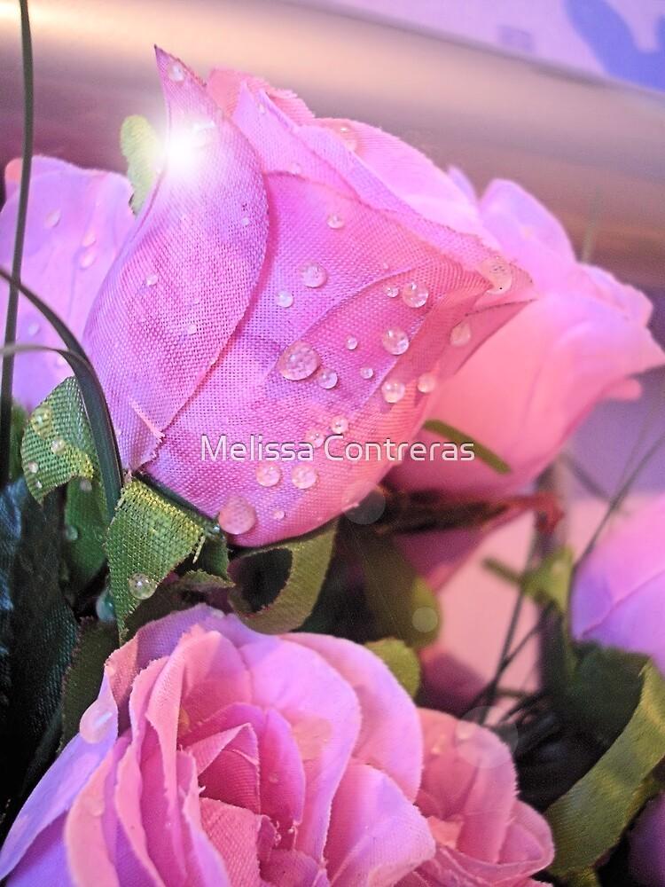 Pink Raindrops by Melissa Contreras
