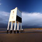 Leaning Lighthouse by Nigel Dourley
