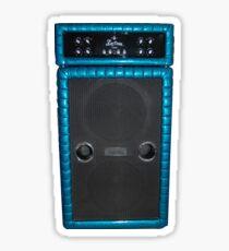 Bass Guitar Cabinet Amp Amplifier Sticker
