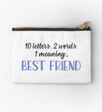 Bester Freund - 10 Buchstaben, 2 Wörter, 1 Bedeutung Täschchen