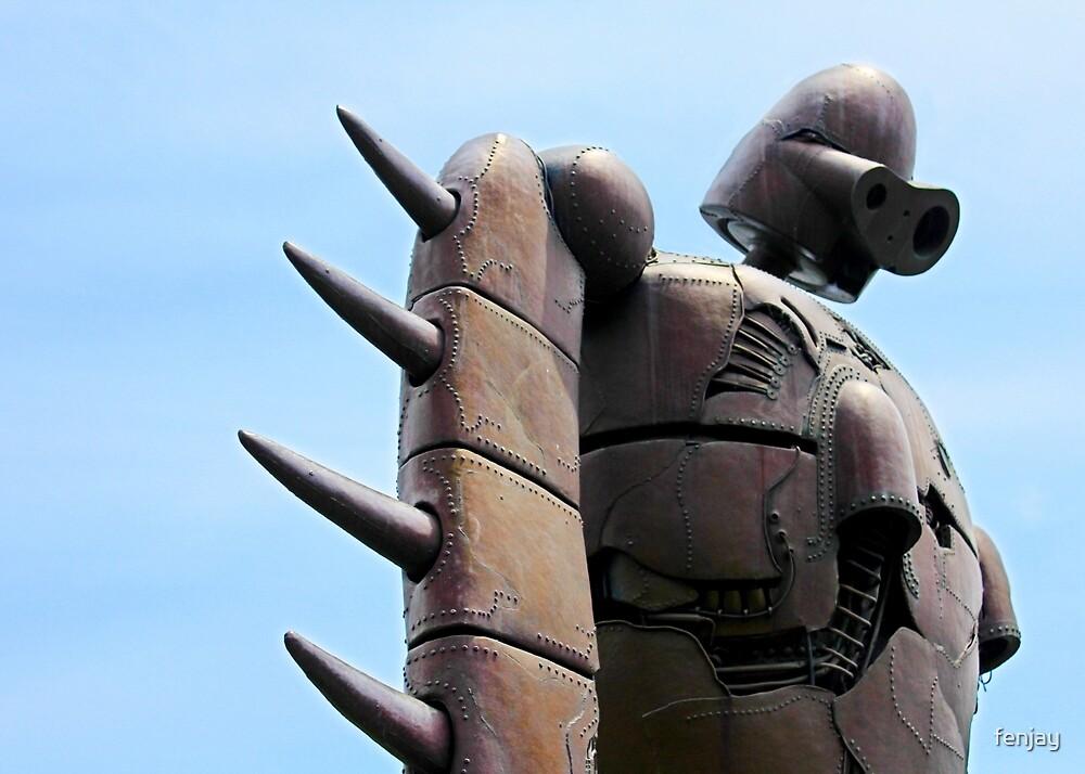 Japan Reloaded - Sky Robot by fenjay