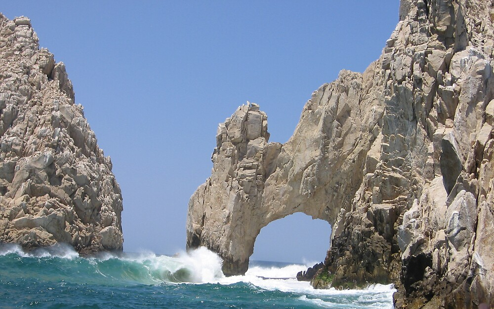 The Arch in Cabo by Harriette Knight