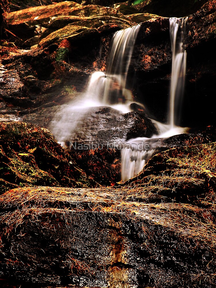 Waterfall by Nasibu Mwande