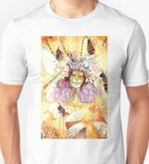 Bumble Trouble Watercolor Piece Unisex T-Shirt