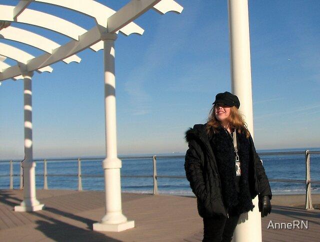 Beach Girl by AnneRN