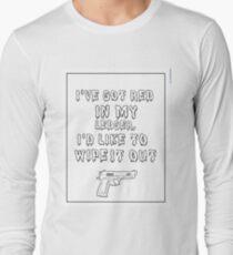 Black Widow Quote Long Sleeve T-Shirt