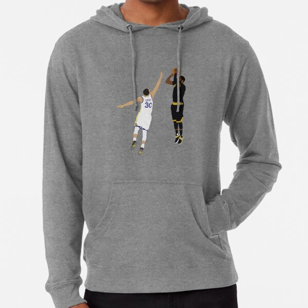 Kyrie Irving Clutch Shot Over Stephen Curry Lightweight Hoodie
