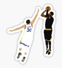 Kyrie Irving Clutch Shot Over Stephen Curry Sticker