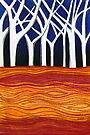 Perfect Pastels - Ghost Gums by Georgie Sharp