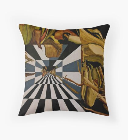 Corn Zoned Throw Pillow