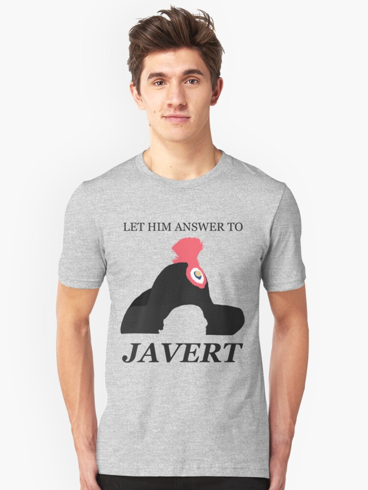 Javert Hat - Les Miserables - Let Him Answer to Javert by Hrern1313