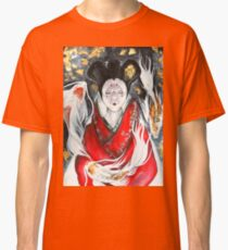 Ghost in the Shell inspired watercolor piece Classic T-Shirt