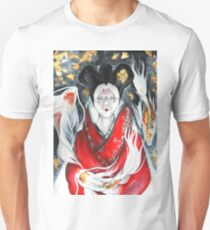 Ghost in the Shell inspired watercolor piece Unisex T-Shirt