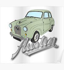 Austin A35 - Standard, Glen Green Poster