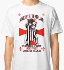 Knights Templar  Christus Vincit , Deus Vult , Christus Regnat Classic T-Shirt