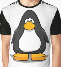 Rest in Peace Club Penguin Graphic T-Shirt