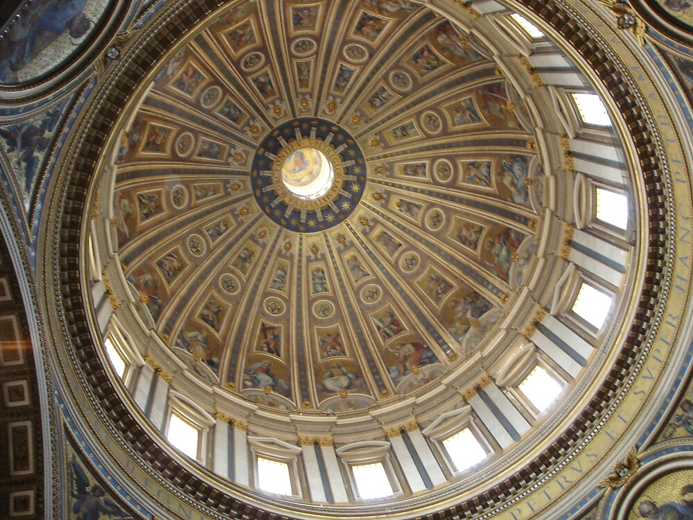 The Vatican Dome by Karen Wrighton