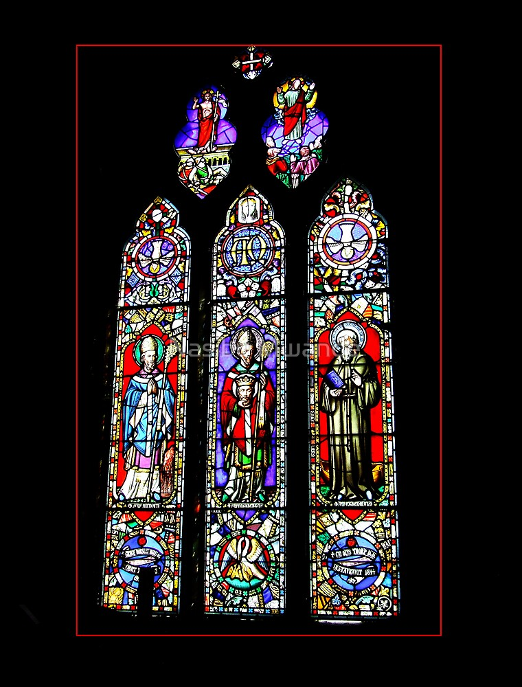 The Old Church window by Nasibu Mwande