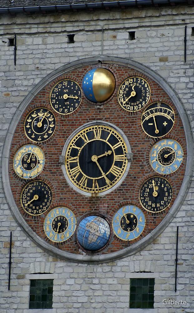 Lier - Zimmer Clock by Gilberte