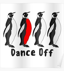Penguin Dance Off Poster
