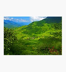 Can Ho, Sapa, Vietnam. Photographic Print