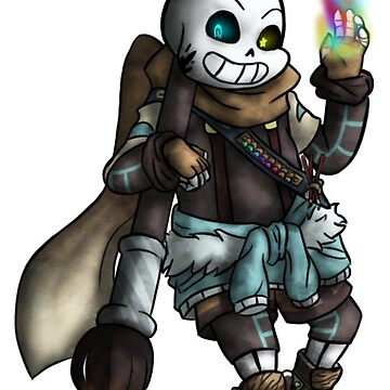 Sticker - Without the skeleton - Inksans by nabuco88
