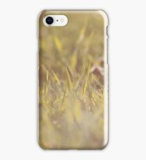 Fresh Grass Closeup iPhone Case/Skin