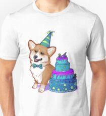 Happy Birthday Corgi! Unisex T-Shirt