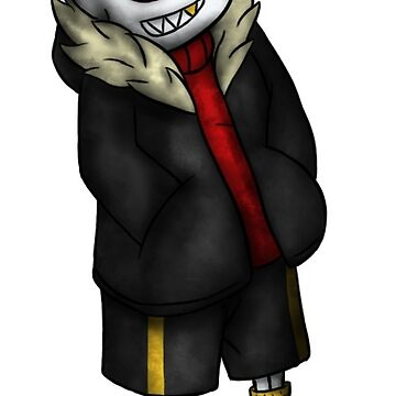 Sticker - Without the skeleton - Underfell by nabuco88
