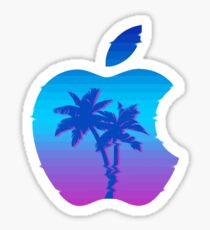 Applewave Sticker