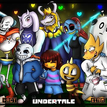 Print - Undertale by nabuco88
