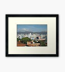 Belo Horizonte Brazil Framed Print