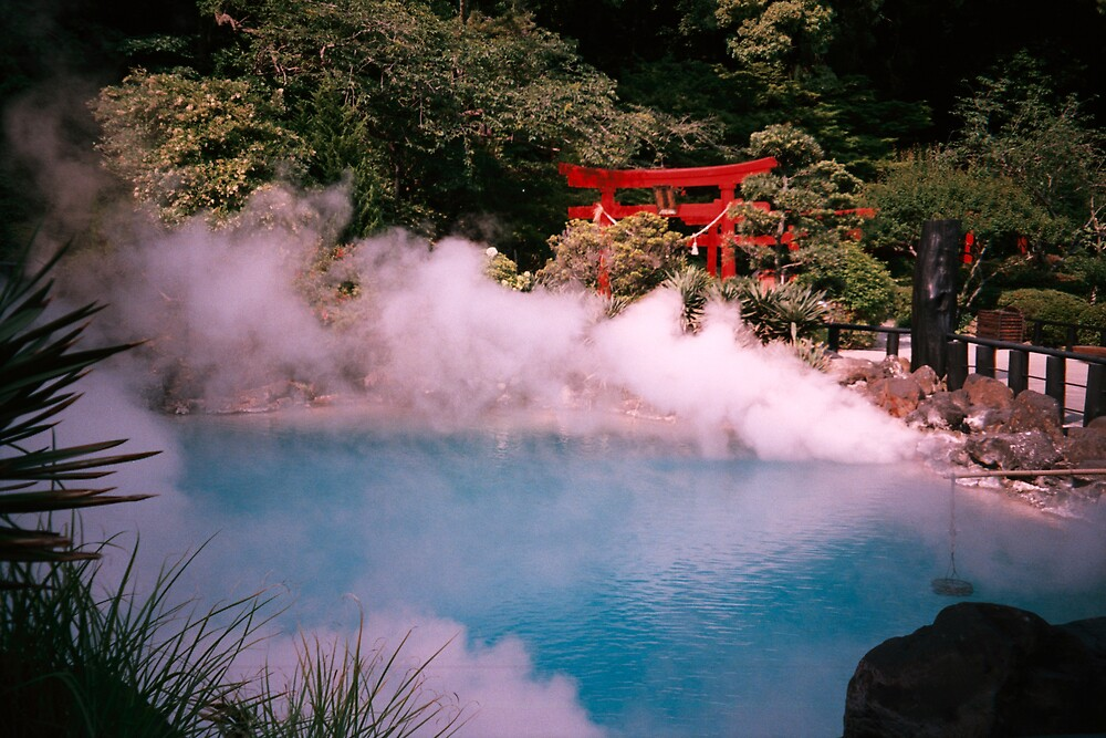 JAPANESE HOT SPRINGS by LIZBO