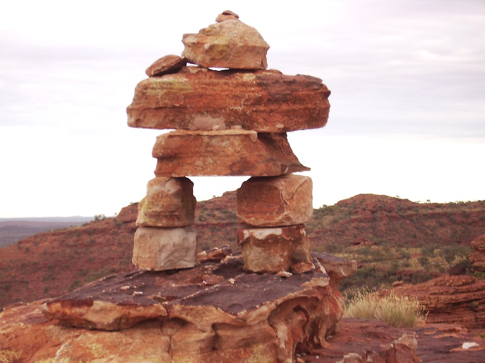 SCULPTURE IN THE OUTBACK by LIZBO