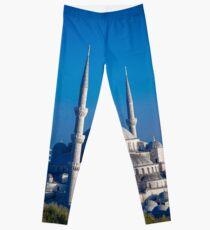 Istanbul Turkey Mosque Leggings