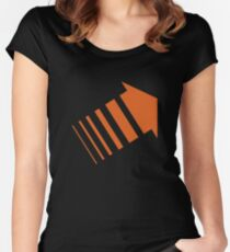 Legion Orange Arrow David Haller Women's Fitted Scoop T-Shirt