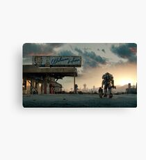 Fallout 4 - Welcome Home Canvas Print